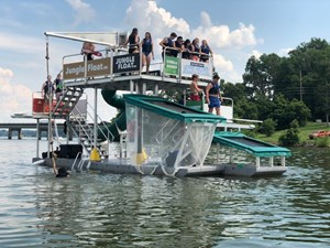 Jungle Float Tarzan Boat 12 x 34 Mobile Water Park 33 GOPR6138