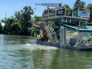 Jungle Float Tarzan Boat 12 x 34 Mobile Water Park 34 GOPR6142