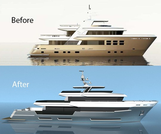 NEW DESIGN VS EXISTING DESIGN