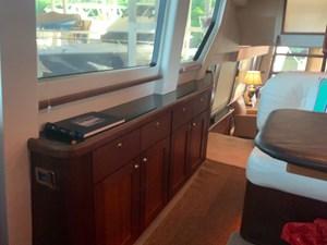 ALEXELLE 26 Galley Starboard Side Buffet - Dish Locker