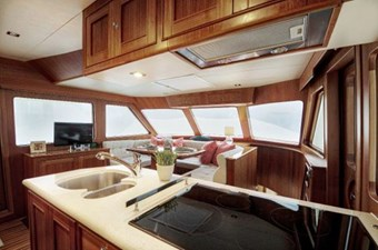 Incorrigible 19 Galley and Seating f