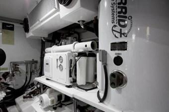 Incorrigible 44 Engine Room