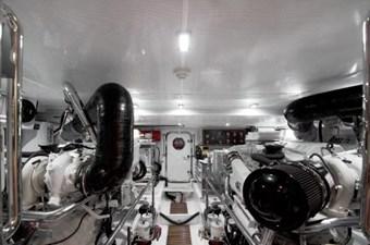 Incorrigible 52 Engine Room