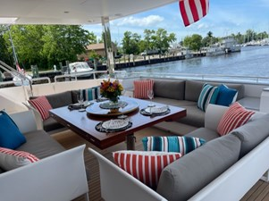 Bella Tu 15 Aft Deck updated Dining Table 2