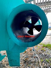 MAVERICK 37 Stern Thruster Tube