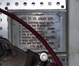 Farmer's Retreat 103 1135 Farmer's Retreat Starboard Diesel Tank Plate