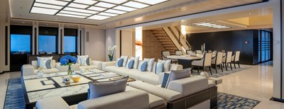 ILLUSION PLUS 5 41, Maindeck aft interior lounge 2