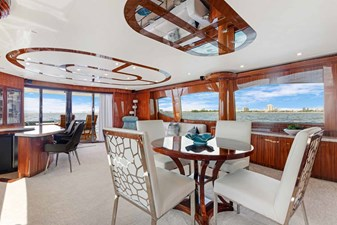 OBSESSION 7 Dining Looking Aft