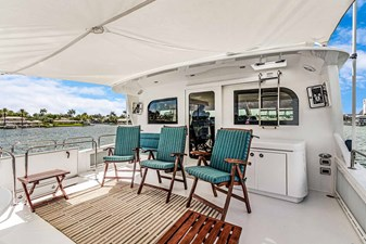 OBSESSION 58 Boat Deck Looking Forward