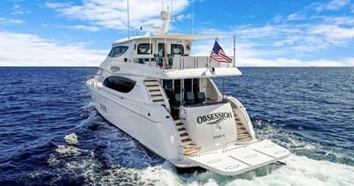 OBSESSION 70 Stern Quarter View