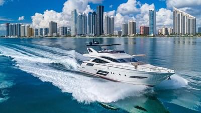Golden 3 1 Golden 3 2015 DOMINATOR 800 Motor Yacht Yacht MLS #272324 1