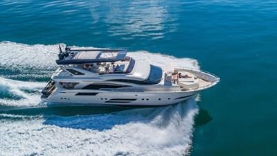 Golden 3 2 Golden 3 2015 DOMINATOR 800 Motor Yacht Yacht MLS #272324 2