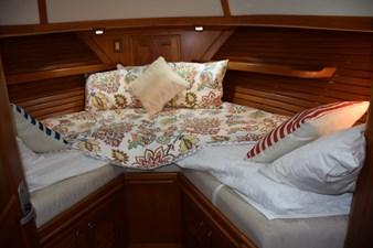 MAHALO 20 Forward Berth with filler cushion