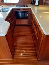 Doña Mimi 14 13. Galley looking to starboard