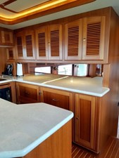 Doña Mimi 16 14. Galley looking aft
