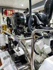 Doña Mimi 38 38. Starboard engine