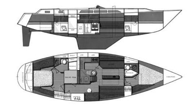 GALLIVANT 1 GALLIVANT 1987 GULFSTAR 45 Cruising Sailboat Yacht MLS #272413 1