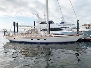LAMLASH 33 At Dock