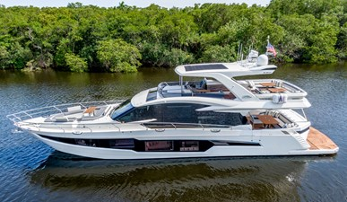 HANG TIME 1 HANG TIME 2020 GALEON 680 FLY Motor Yacht Yacht MLS #272431 1