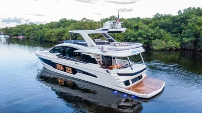 HANG TIME 2 HANG TIME 2020 GALEON 680 FLY Motor Yacht Yacht MLS #272431 2