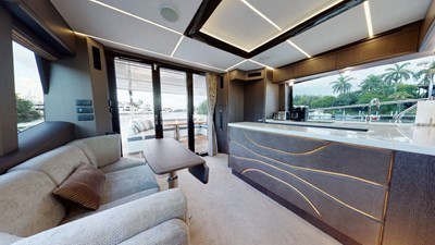 HANG TIME 5 HANG TIME 2020 GALEON 680 FLY Motor Yacht Yacht MLS #272431 5