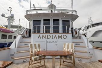 ANDIAMO 33 Aft Deck