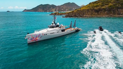 PINK SHADOW YACHT