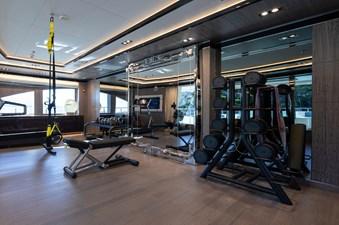 O'PTASIA 21 Bridge deck gym
