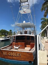 BE COOLEY 1 Transom and Cockpit