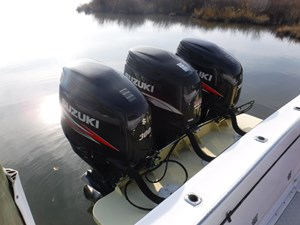 Fighting Lady 19 Triple Outboards