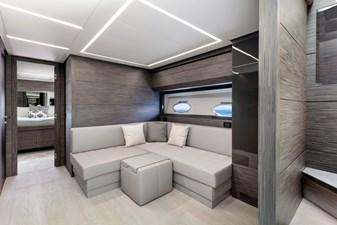 Monarc 10 Lower Deck - Lounge Area