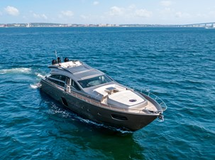 Monarc 23 Bow and Foredeck View