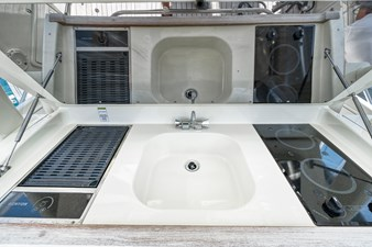 Chris Craft 9 Grill, Cooktop and Sink