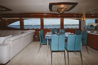 Exit Strategy 8 2006 Hargrave 105 Motor Yacht - Exit Strategy - Dinette
