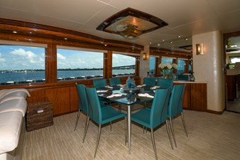 Exit Strategy 9 2006 Hargrave 105 Motor Yacht - Exit Strategy - Dinette