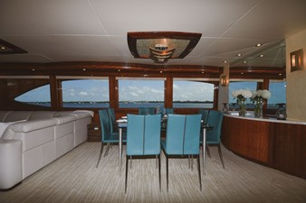 Exit Strategy 10 2006 Hargrave 105 Motor Yacht - Exit Strategy - Dinette