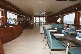 Exit Strategy 11 2006 Hargrave 105 Motor Yacht - Exit Strategy - Dinette