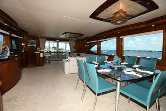 Exit Strategy 13 2006 Hargrave 105 Motor Yacht - Exit Strategy - Dinette