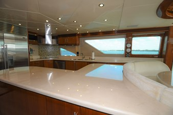 Exit Strategy 20 2006 Hargrave 105 Motor Yacht - Exit Strategy - Galley
