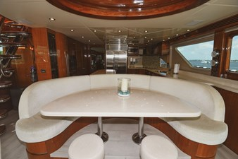 Exit Strategy 23 2006 Hargrave 105 Motor Yacht - Exit Strategy - Dinette