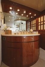 Exit Strategy 47 2006 Hargrave 105 Motor Yacht - Exit Strategy - Guest Head