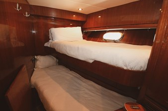 Exit Strategy 54 2006 Hargrave 105 Motor Yacht - Exit Strategy - Crew Stateroom