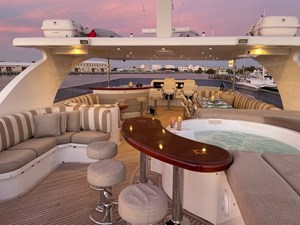 Exit Strategy 57 2006 Hargrave 105 Motor Yacht - Exit Strategy - Flybridge