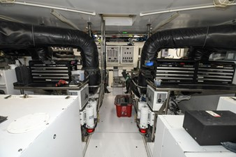 Exit Strategy 59 2006 Hargrave 105 Motor Yacht - Exit Strategy - Engine Room