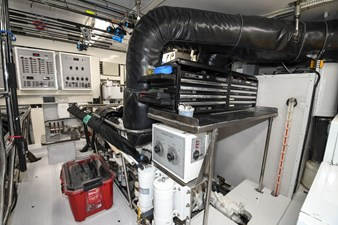 Exit Strategy 60 2006 Hargrave 105 Motor Yacht - Exit Strategy - Engine Room