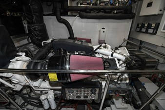 Exit Strategy 63 2006 Hargrave 105 Motor Yacht - Exit Strategy - Engine Room