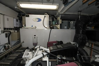 Exit Strategy 66 2006 Hargrave 105 Motor Yacht - Exit Strategy - Engine Room