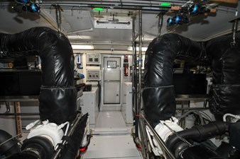 Exit Strategy 68 2006 Hargrave 105 Motor Yacht - Exit Strategy - Engine Room