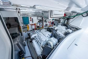 Kariba 23 Engine Room