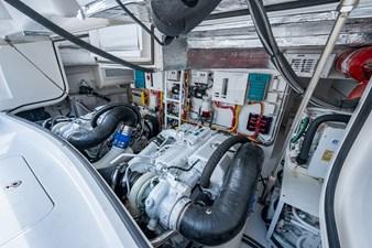 Kariba 24 Engine Room